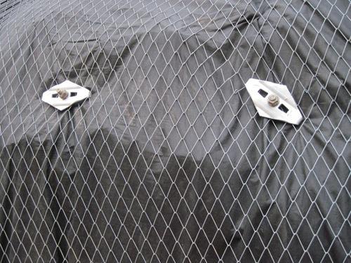 菱形铁丝防护网