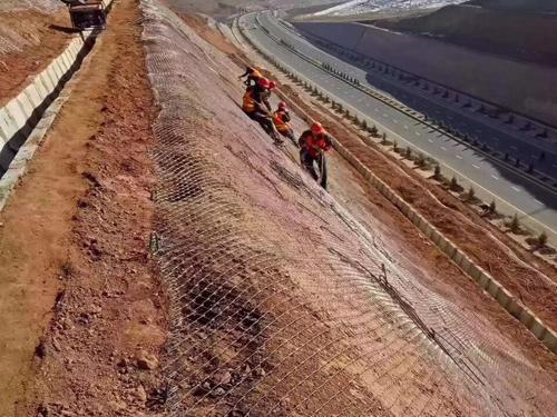 喷播绿化铁丝网